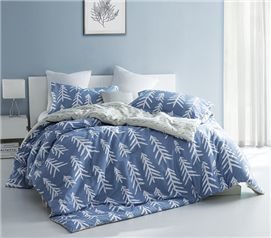Smoke Blue Nights Twin XL Comforter Set