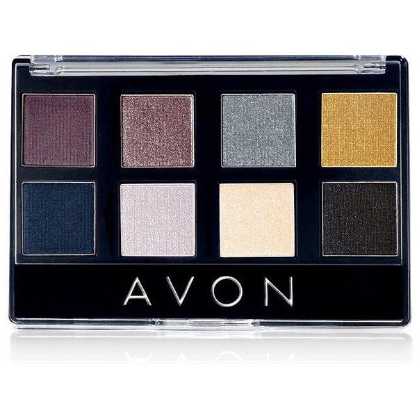 Avon True Color 8-in-1 Eyeshadow Palette | AVON ($12) ❤ liked on Polyvore featuring beauty products, makeup, eye makeup, eyeshadow, avon eye shadow, avon eye makeup, palette eyeshadow, avon eyeshadow and avon