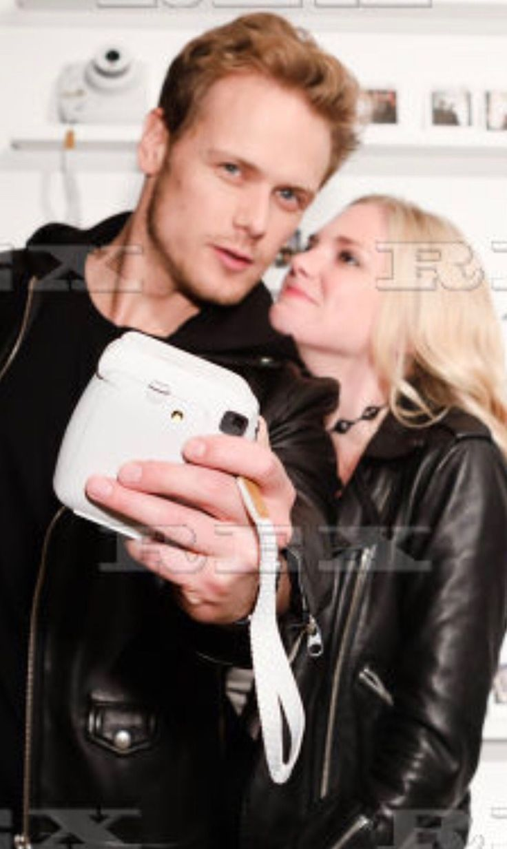 Sam Heughan Celebrates Birthday with Girlfriend MacKenzie