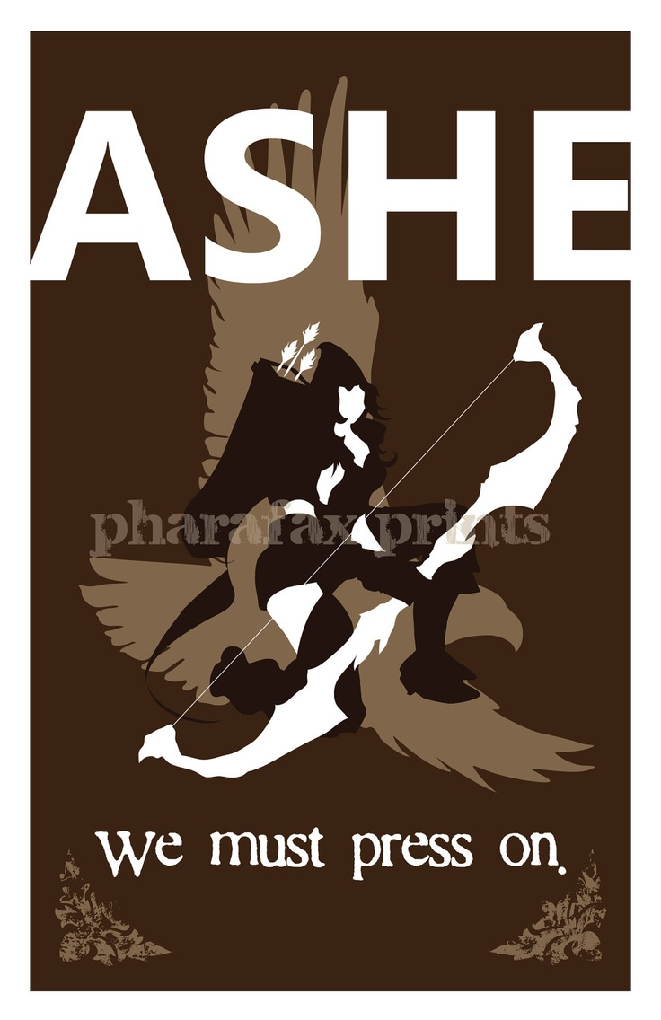 Ashe: League of Legends Print