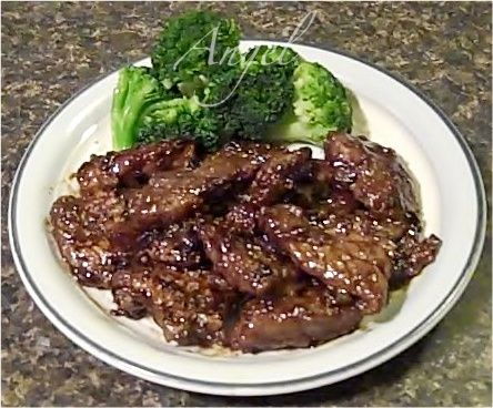 Crispy Orange Beef with Broccoli | bon appetit | Pinterest