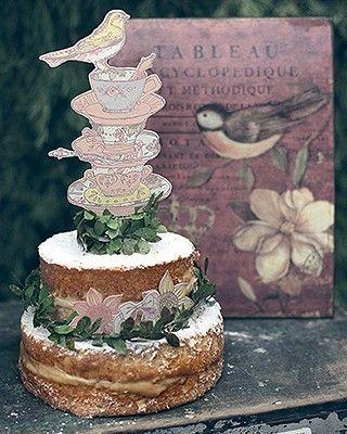 Naked cake de doce de leite  (Foto: Rogério Voltan)