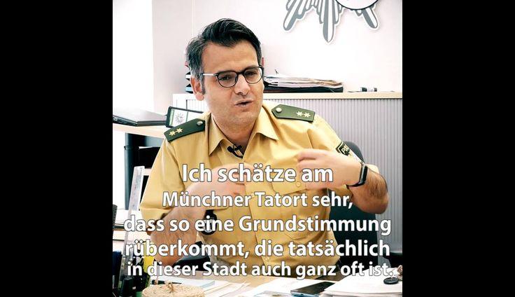 """Marcus da Gloria Martins, Pressesprecher der Polizei München mag Batic und Leitmayr – auch weil """"die nicht ganz so verkracht sind"""".   Übrigens: Die Kollegen von der Polizei twittern heute auch zum neuen Fall aus München!"""