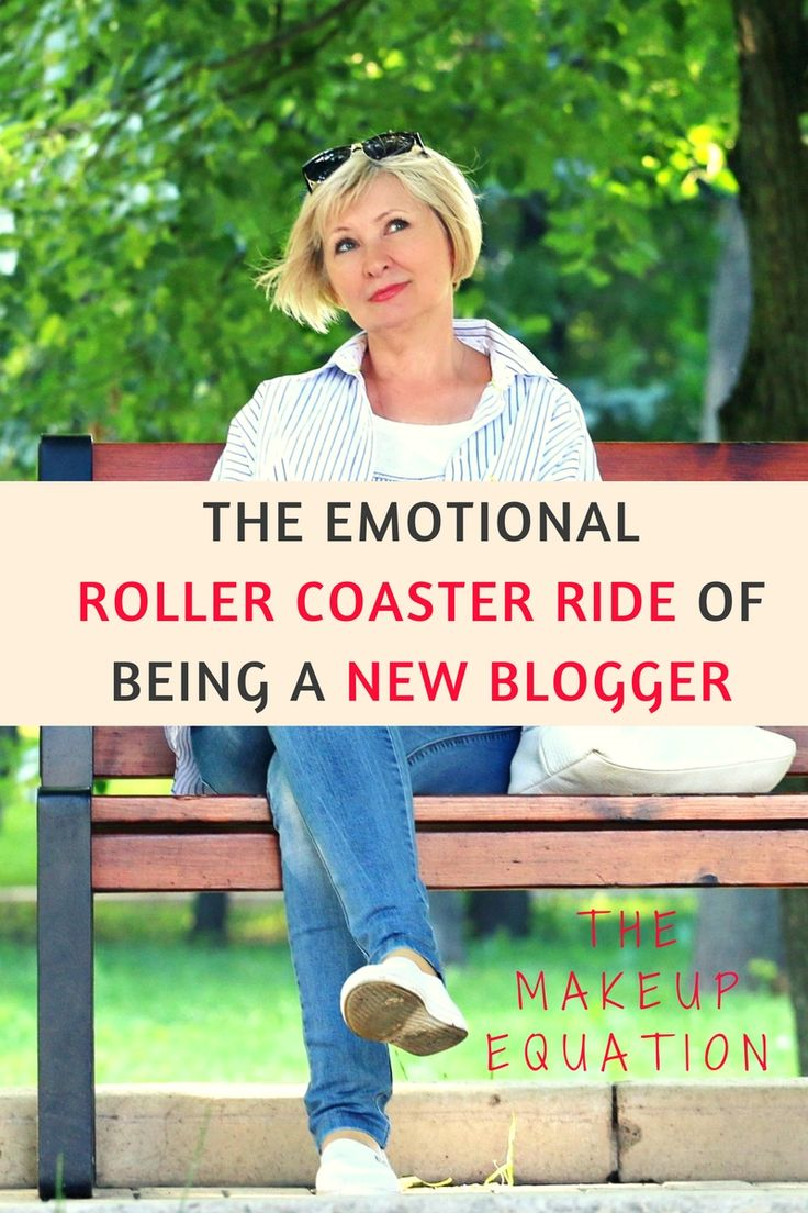 The Emotional Roller Coaster Ride Of Being A New Blogger