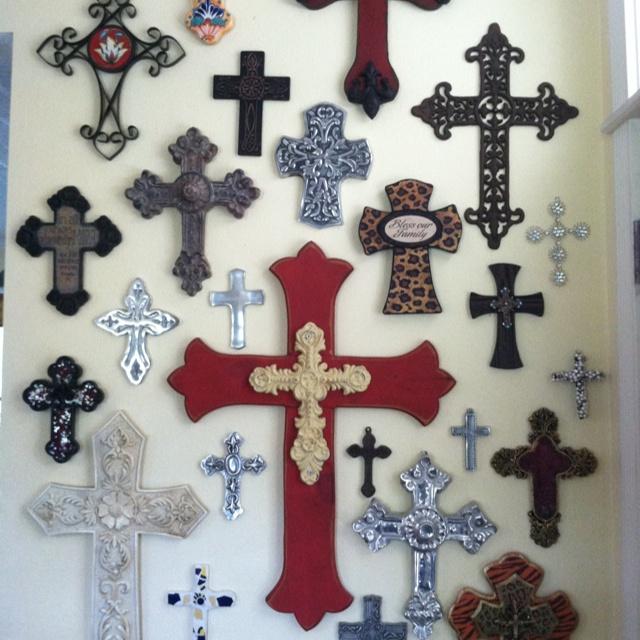 My cross wall!
