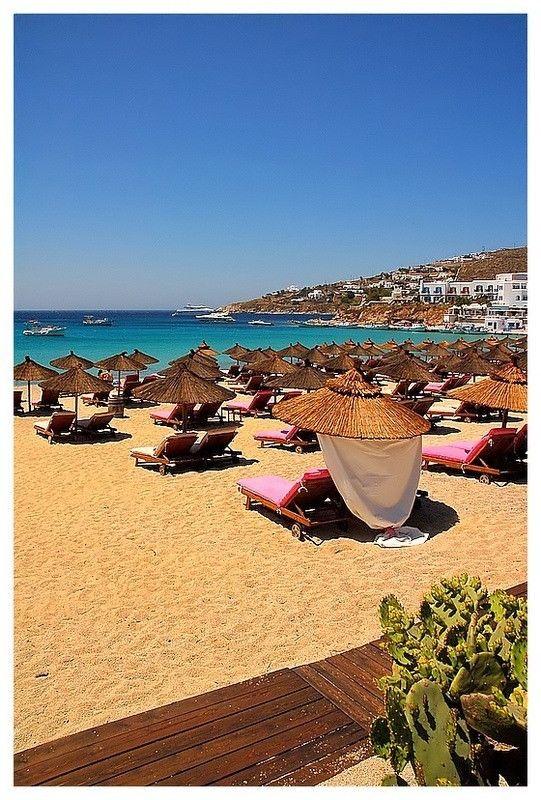 VISIT GREECE| Plati Gialos, Mykonos, Cyclades, Greece