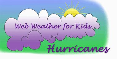 Several kid-friendly infographics and pieces of hurricane information & facts