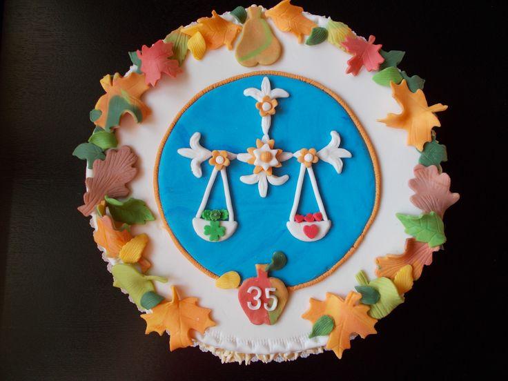 Zodiac Libra - Autumn K 35. narozeninám pro podzimní znamení Váhy