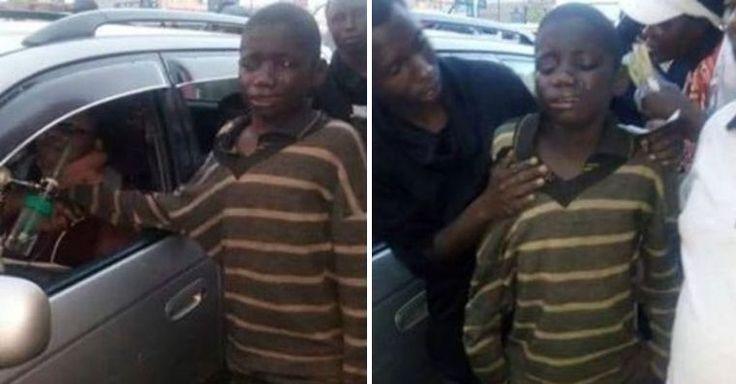 Menino de rua se aproxima de carro para pedir esmola. Depois, chora sem parar ao ver quem está dirigindo | VC BELA