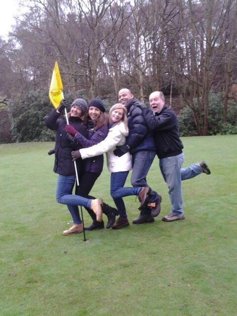 Pitney Bowes having fun with Goteam.guru in Pennyhill Park, UK.