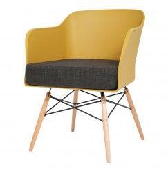 Stolička CUUTER - žltá