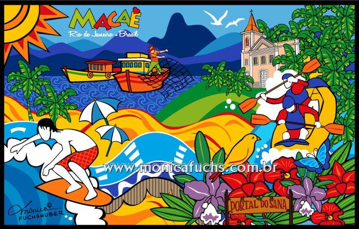 MACAÉ - Rio de Janeiro - Brasil Rio de Janeiro |  Deseja encomendar uma arte ou comprar uma reprodução? Entre em contato: contato@monicafuchs.com.br