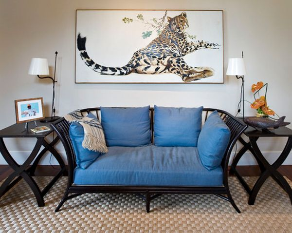 20 Stunning Leopard Accents in the Living Room