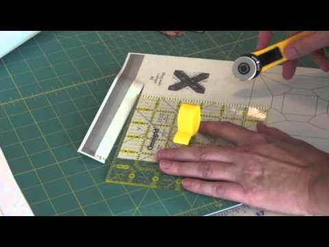 Paper piecing with Freezer Paper Part 1 Excellent tutorial