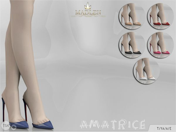 The Sims Resource: Madlen Amatrice Shoes by MJ95 • Sims 4 Downloads