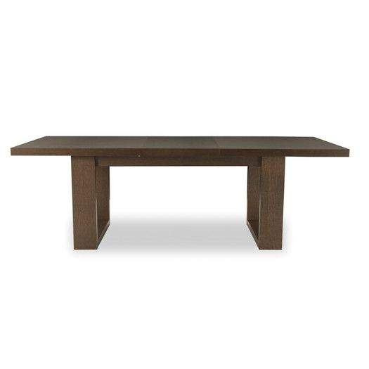 """$998 - brown table/brown extension Overall: 30"""" H x 39"""" W Overall Length - Side to Side: With Extension: 93"""" Overall Length - Side to Side: Without Extension: 71"""" FREE SHIPPING! Shop AllModern for Tema Tundra Extendable Dining Table - Great Deals on all  products with the best selection to choose from!"""