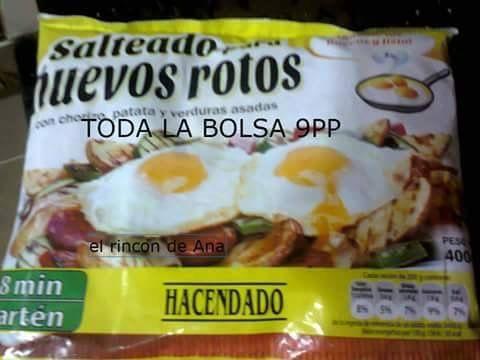Salteado para huevos rotos Hacendado