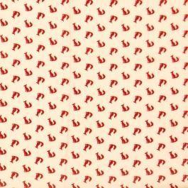 Tissu Ecureuils x 10 cm