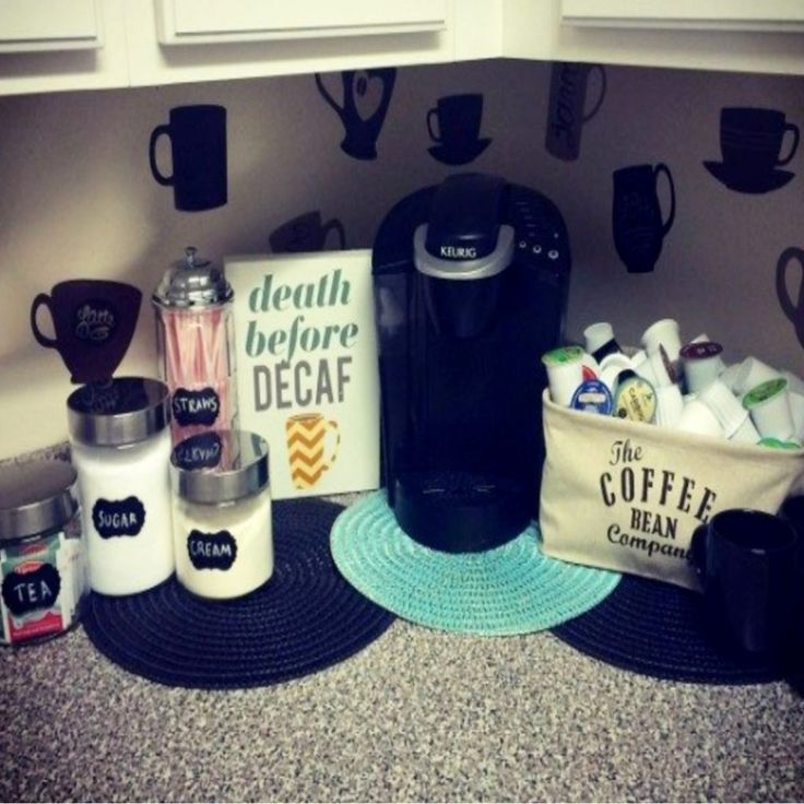 Solutions Home Bars: 174 Best Coffee Bar Ideas • DIY Home Coffee Bars Images On