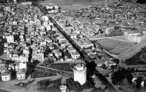 Αεροφωτογραφία στα τέλη της δεκαετίας του 1930.