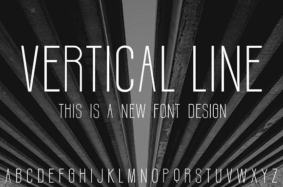 Vertical line by LYB-Design on @creativemarket