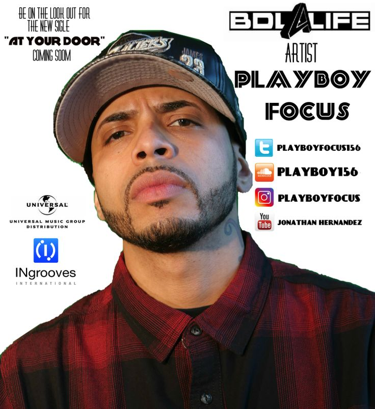 Bronx Recording Artist, Playboy Focus Signs A Major Distribution Deal With BDL4LIFE Entertainment & Presents New Single,''At Your Door'' – True Skool Network