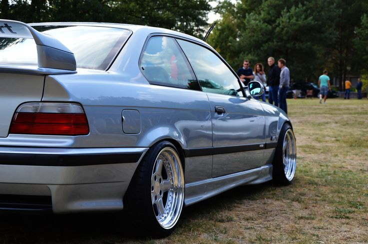Silver Bmw E36 Coupe On Cult Classic Oz Ac Schnitzer Type