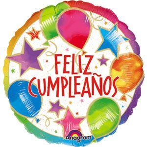 "18"" Celebration Feliz Cumpleanos"