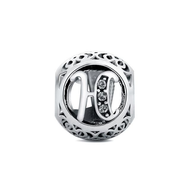 Letter Beads Charms fit for Pandora Bracelets #pandorajewelry