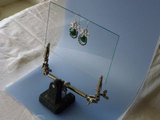 Natural Light Jewelry Photography with the Modahaus Portable Studio Set Up - The Beading Gem's Journal