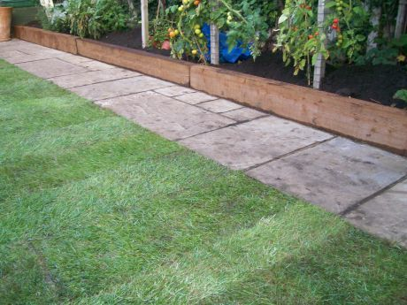 best 25 railway sleepers garden ideas on pinterest sleepers garden sleeper wall and sleeper steps