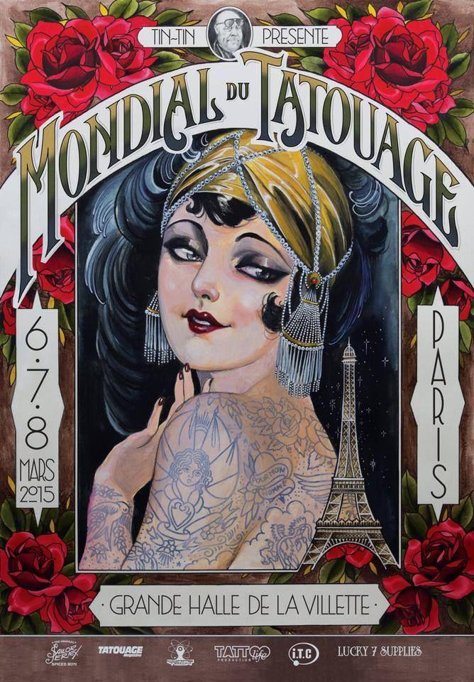 A l'initiative de Tin-Tin, le Mondial du tatouage est depuis plusieurs années, la convention internationale, dédiée a ce que ...