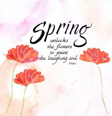 pictureswithwords: Happy Spring Day