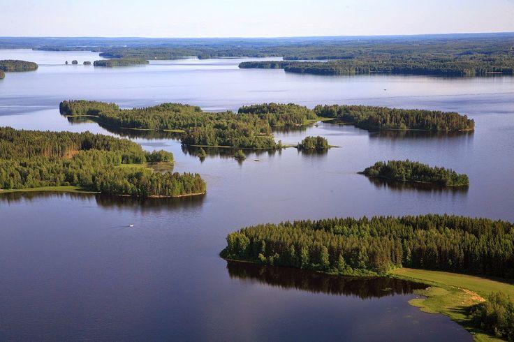 Lake Kyrösjärvi, Ikaalinen Finland.