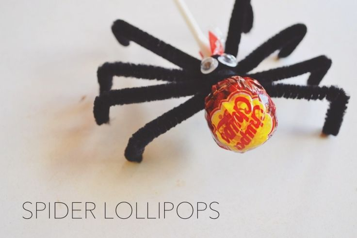 Easy Spider Lollipops! Halloween Treats - KANALU ON MAUI マウイのお笑い一家「かなる食堂」