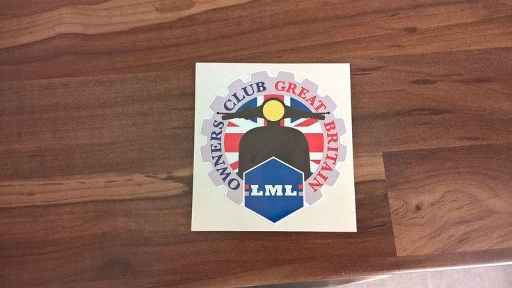 ★LML owners club great britain sticker (LMLOCGB)