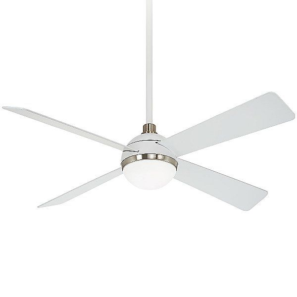 Minka Aire Orb Ceiling Fan F623l Whf Bn In 2020 Ceiling Fan