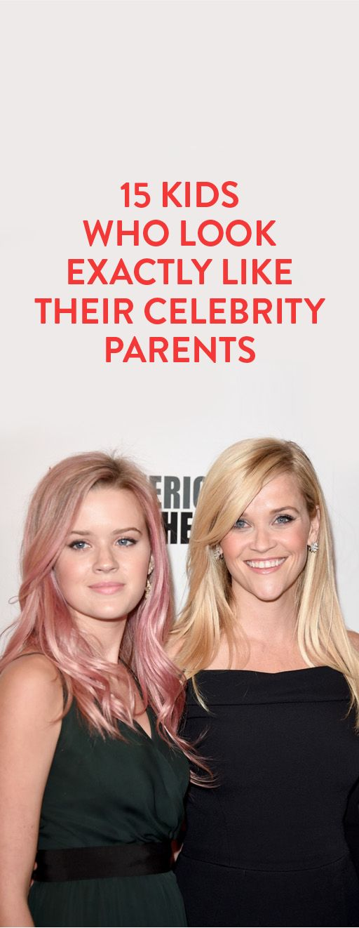 15 Kids Who Look Exactly Like Their Celebrity Parents - Bustle