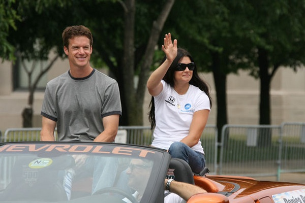 Danica Patrick announces divorce from husband on Facebook