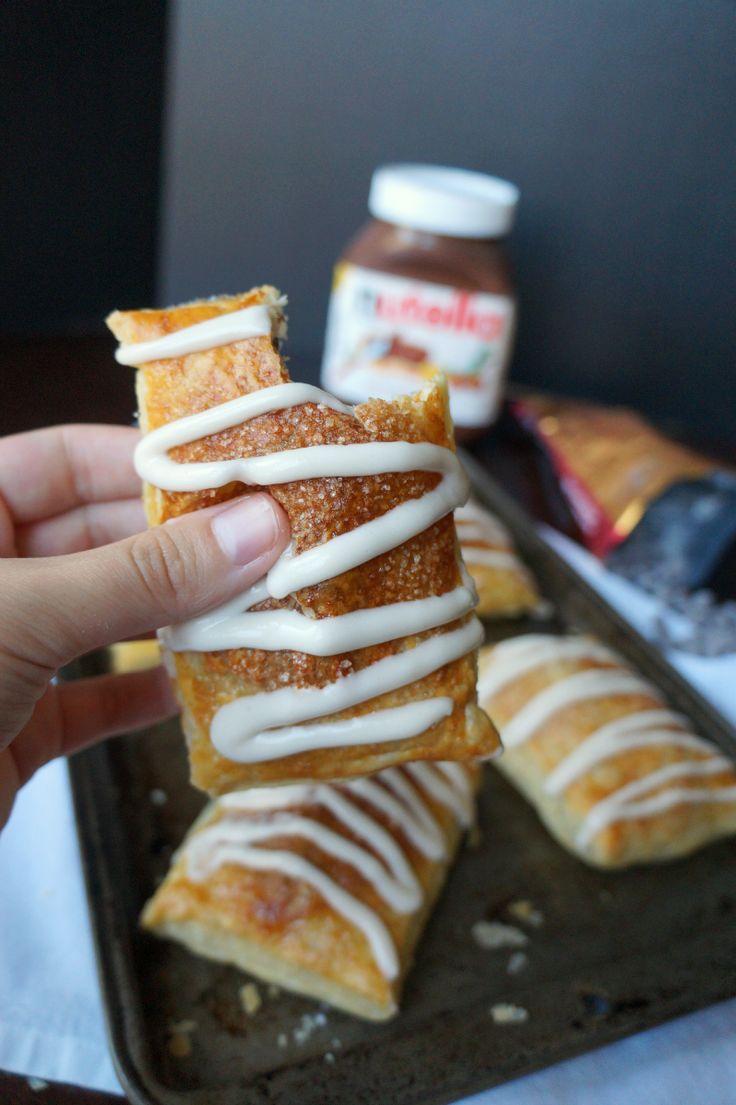 Nutella toaster strudel    The Baking Fairy