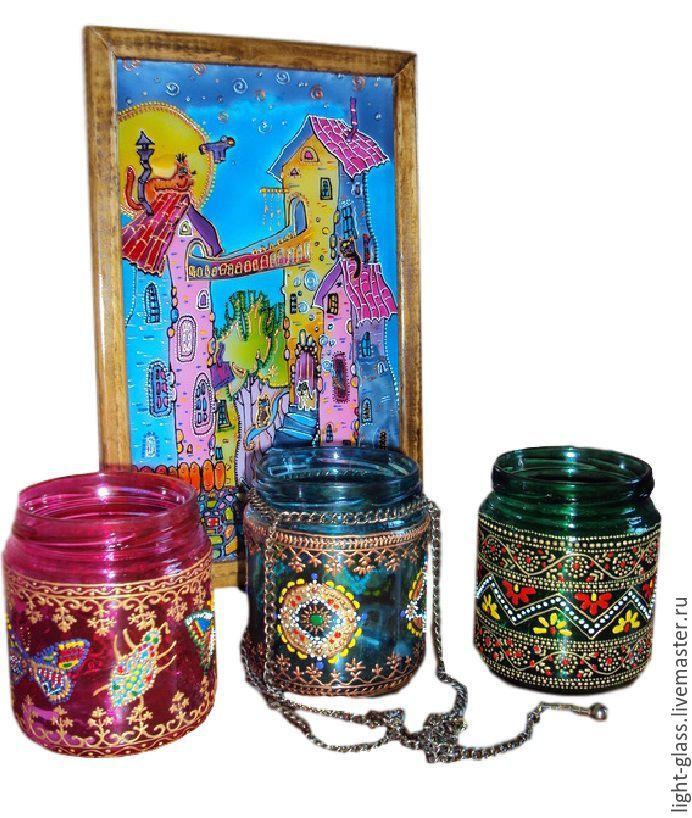 Купить Подсвечники, элементы интерьера - подсвечники, для хранения, посуда, декоративная посуда, сувениры, подвесной подсвечник