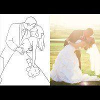 20 лучших поз для свадебной фотосессии, поцелуй жениха и невесты