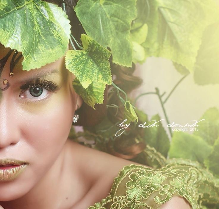 lady in the jungle,,