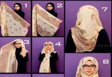 3 Minutes Pour Réaliser Ce Hijab Moderne Et Chic Pour Lunette De Vue!!!