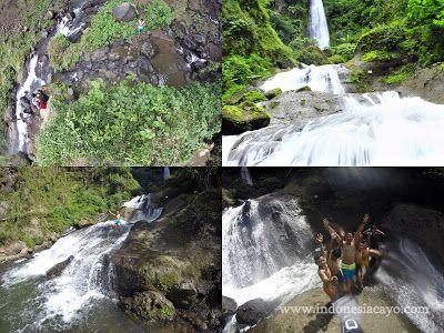Curug Bajing falls in Pekalongan Indonesia