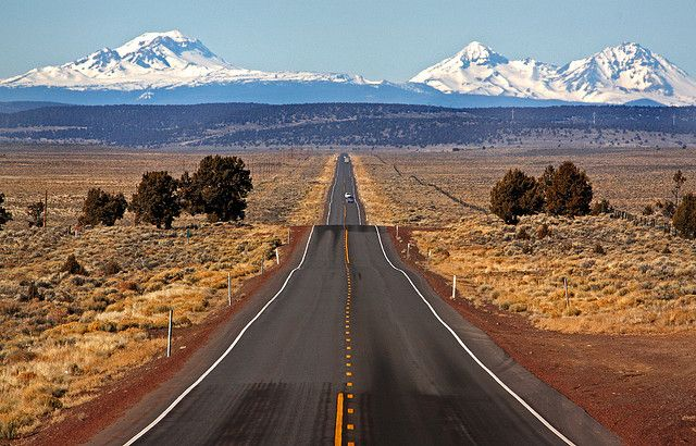 High Desert Highway 20 by James T McArdle, via Flickr
