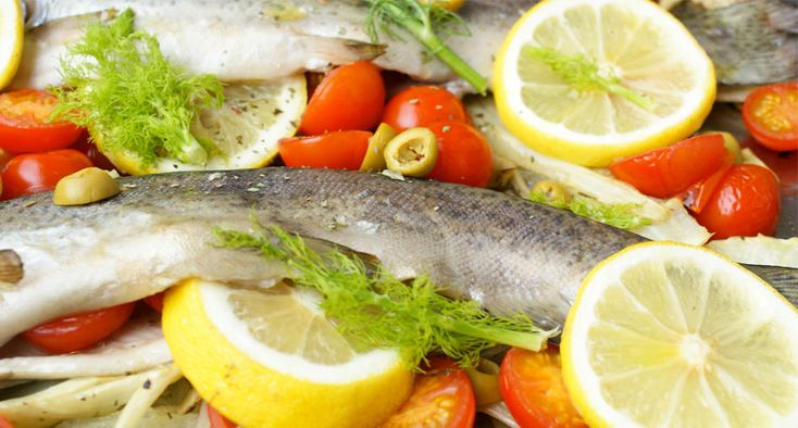 Mediterrane forel met venkel en tomaat recept