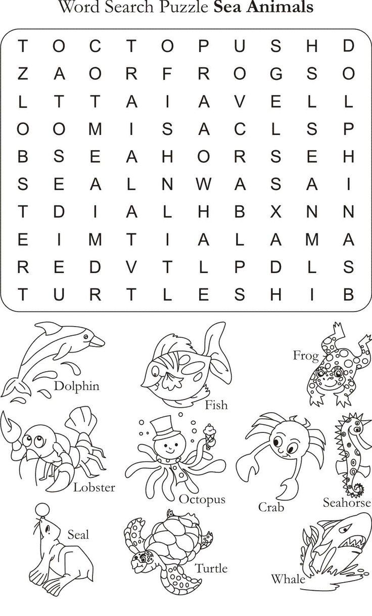 worksheet about animals google animals english worksheets for kids kids word. Black Bedroom Furniture Sets. Home Design Ideas