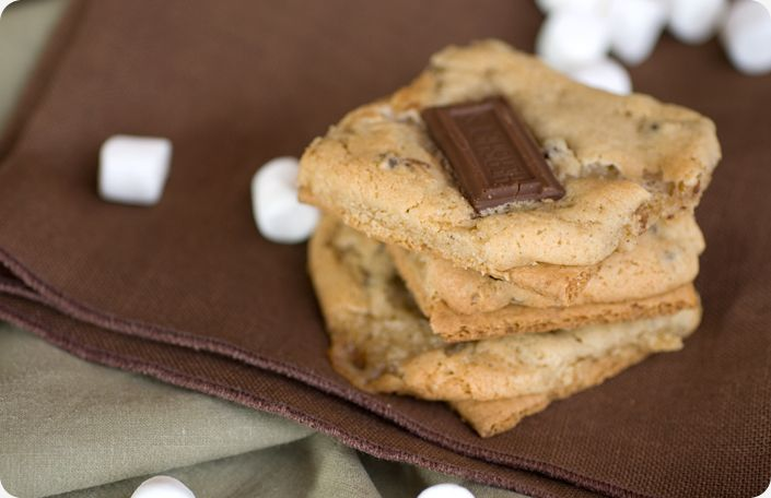 Holy Crap S'More Cookies: S More