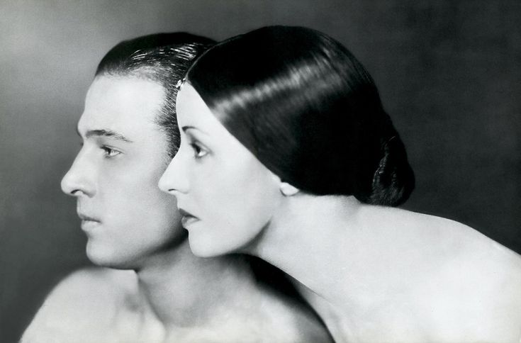Rudolph Valentino and Natacha Rambova, 1925. Photograph by James Abbe.